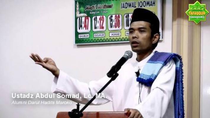 Ustaz Somad Batal Ceramah di PLN Jakarta, ini Penjelasan Panitia