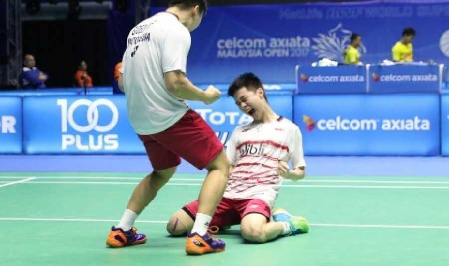 Akhirnya Pasangan Kevin/Marcus Buktikan Juara di Malaysia Open 2017