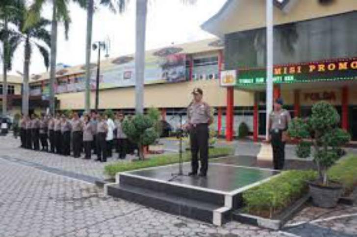 Polda Riau Gelar Pasukan Operasi Patuh Siak 2017