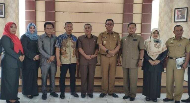 Bedah Program Pembangunan, Komisi V DPRD Riau Kunjungan Isedentil ke Rohil