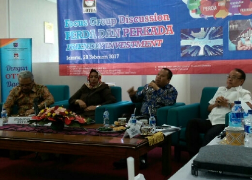 Bupati H Irwan Jadi Narasumber Group Discussion Perda dan Perkada Friendly Investment