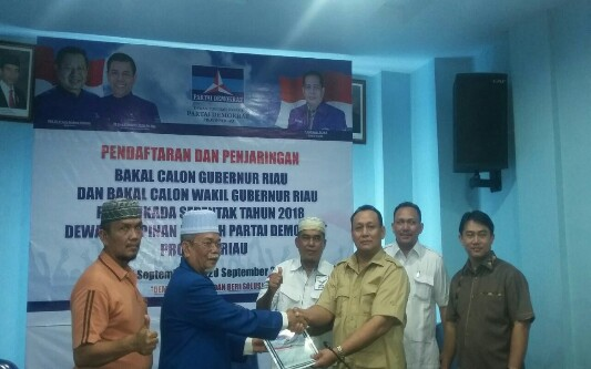Tim Verifikasi Partai Demokrat Riau Panggil Eddy Tanjung Lengkapi Kekurangan Berkas