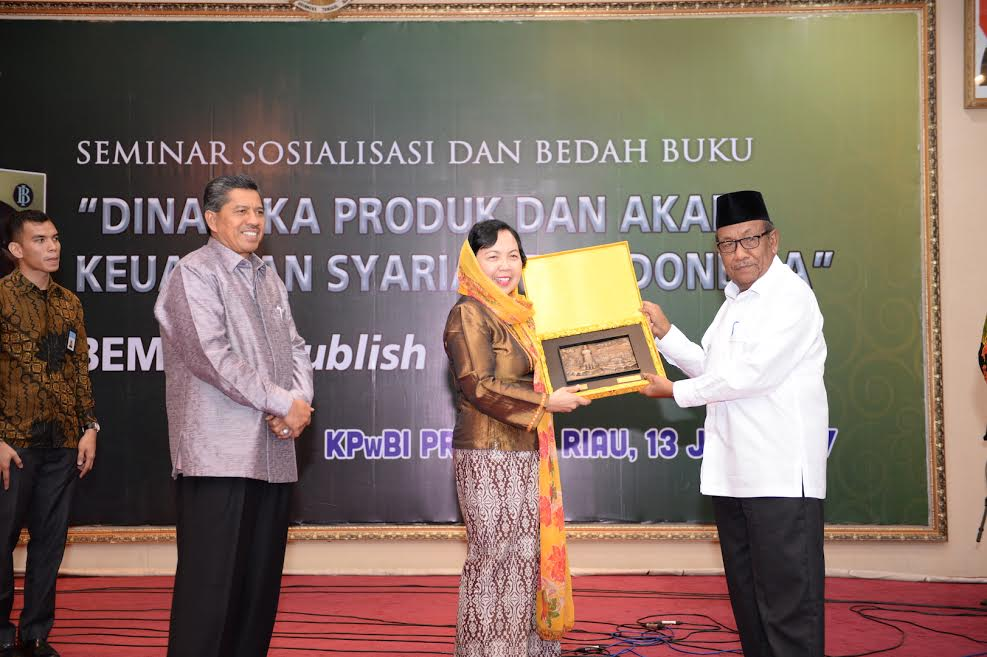 Wagubri Hadiri Seminar Sosialisasi Bedah Buku dan Akad Keuangan Syariah di Indonesia