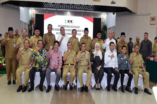 Gubri Dukung Sistim Penyelenggaraan Bersih di Riau