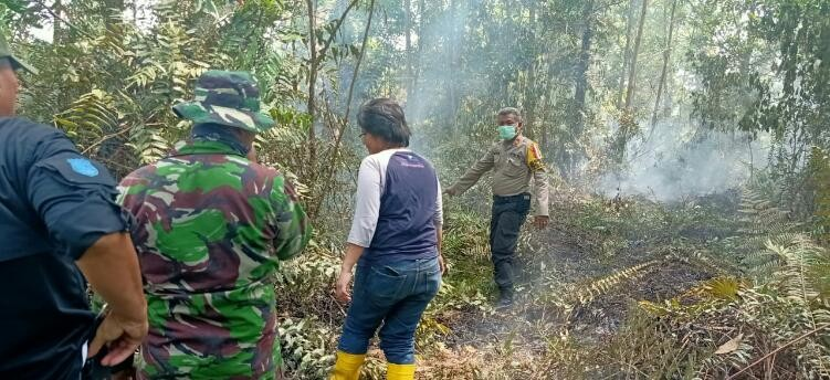 6 Hektare Lahan di Rimbo Panjang dan Karya Indah Terbakar