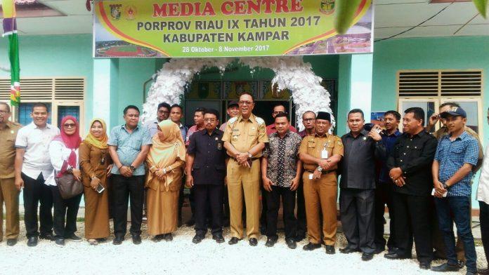"""Porprov Riau ke IX """"Bolek Godang"""" Kabupaten Kampar"""