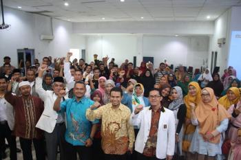 Hamdani Hadiri Pelatihan Kader PKS
