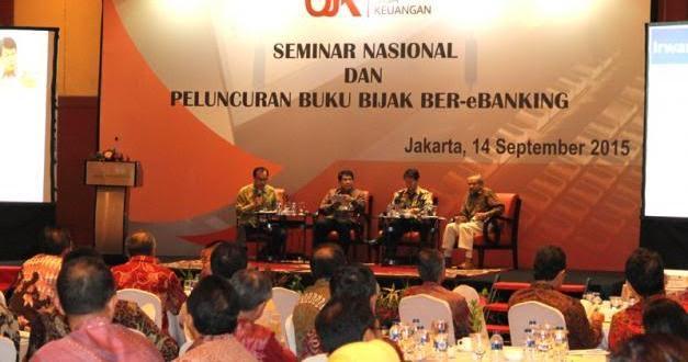 Dirut BRK Ikuti Seminar Bijak Ber-e-Banking di Jakarta