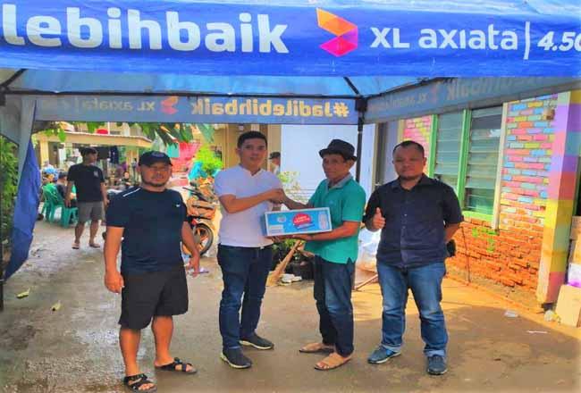XL Axiata Salurkan Bantuan untuk Korban Banjir