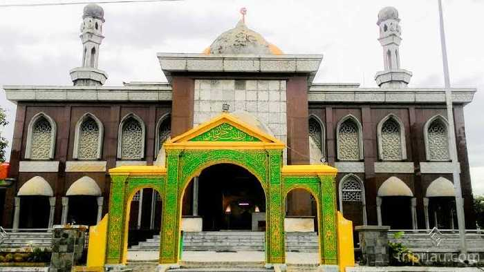 MSI Sayangkan Pencoretan Masjid Raya Nur Alam dari Situs Cagar Budaya
