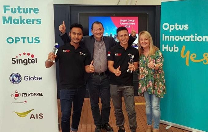 Pemenang The NextDev Telkomsel Raih Dua Penghargaan Tingkat Asia Pasifik