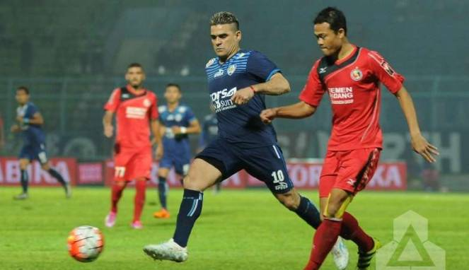 Lewati Laga Sengit, Semen Padang Tekuk Arema FC