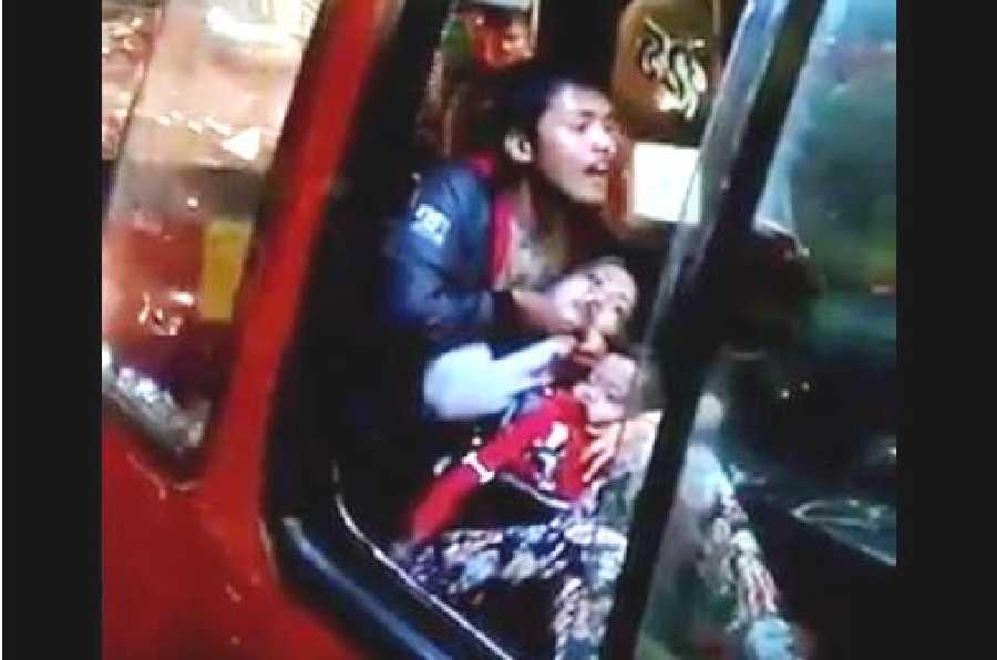 Ibu dan Bayi Ini Disandera, Penjambret Berhasil Dilumpuhkan Polisi