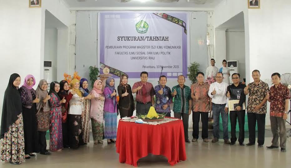 UR Buka Program Magister Ilmu Komunikasi