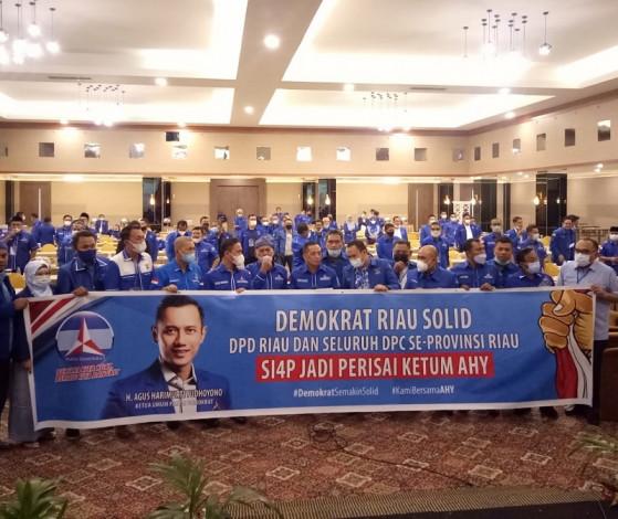Demokrat Riau Gelar Rakorda, Solid dan Siap Jadi Perisai AHY