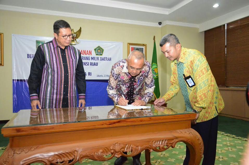 Menag Sebut Riau Layak Jadi Embarkasi Antara