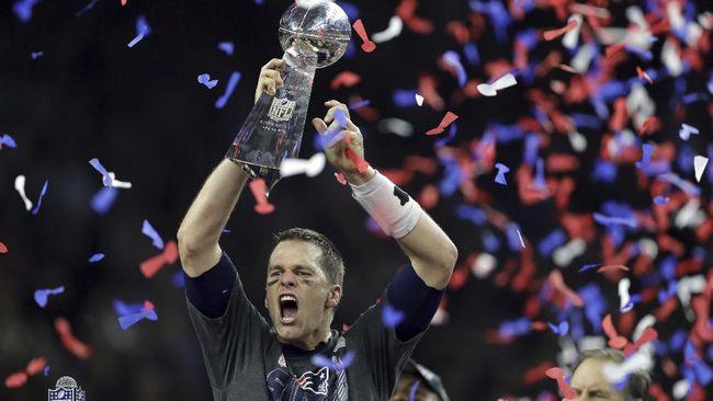 Tom Brady, Megabintang NFL Sejajar Jordan dan Ronaldo