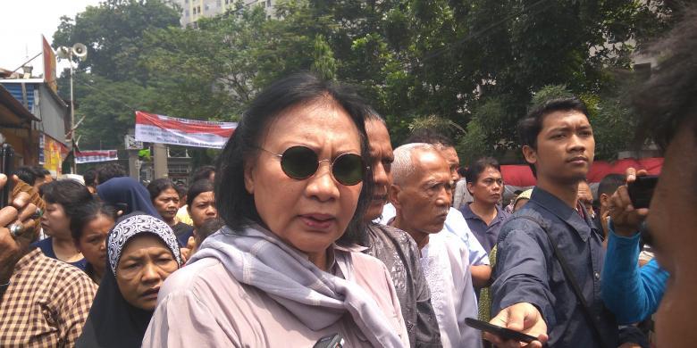 Ratna Sarumpaet: Kalau Saya Presiden, Luhut Saya Bui!