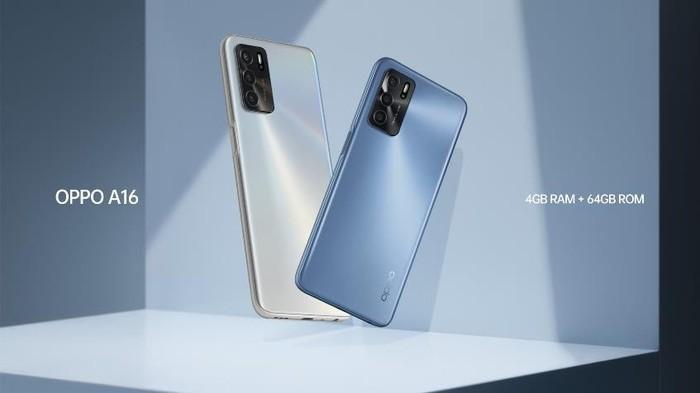 OPPO A16 Punya Varian Baru Pearl Blue, Kapasitas 4/64 GB