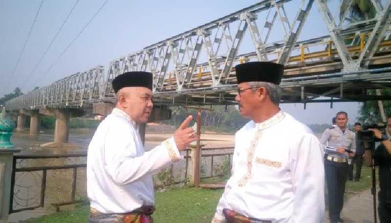 Jembatan Lubuk Jambi Segera Dibangun