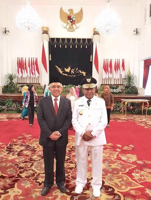Dilantik Presiden, H Wan Thamrin Hasyim Resmi Jadi Wagubri