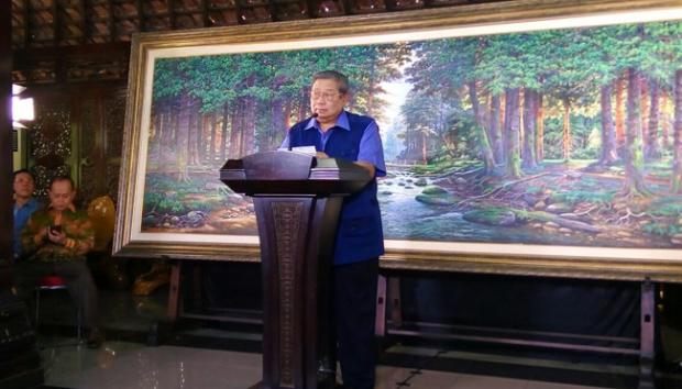 SBY: Saya Minta Doa Restu Rakyat agar Kuat Hadapi Badai Politik