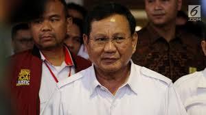 Prabowo Subianto: Banyak Elite Sudah Berkhianat