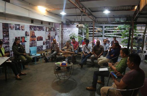 Bupati Siak  Syamsuar Sambangi Komunitas Bandung Creative City Forum