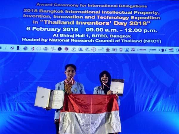 Mahasiswa Universitas Riau Raih Prestasi Tingkat Internasional