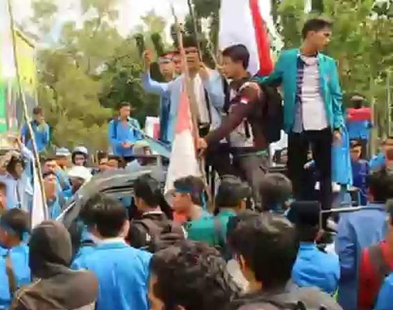 Sampaikan Aspirasi Jokowi Gagal Pimpin Indonesia