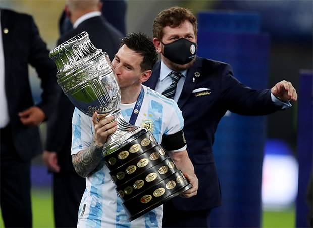 Argentina Juarai Copa America, Lionel Messi Dkk Borong Gelar Individu
