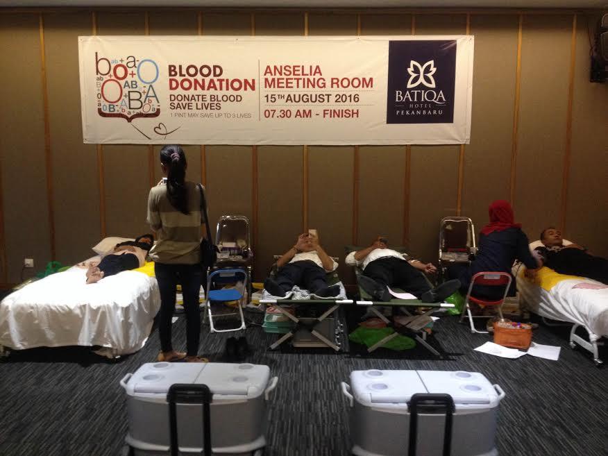 Donor Darah di Batiqa Hotel