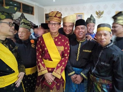 Sejumlah Pengurus LAMR Dampingi Sandiaga