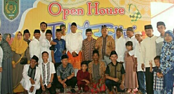 Sambut Idul Fitri, Pjs Bupati Inhil Gelar Open House