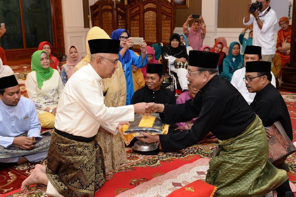 Gubri Terima Kunjungan LAM Riau
