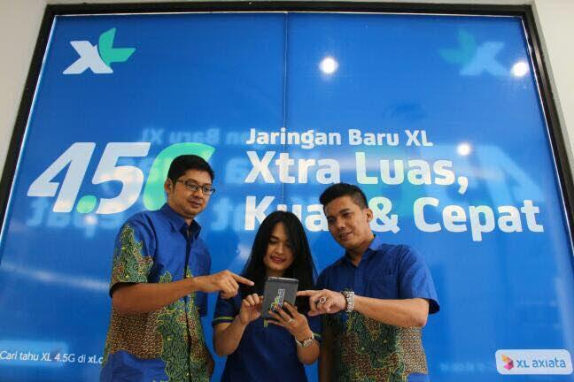 XL Axiata Bangun 4,5G Xperience Zone