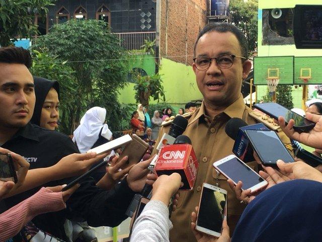 Ketua DPRD DKI Bilang Tanah Abang Kumuh, Anies: Mungkin Beliau Kebanyakan Kunker