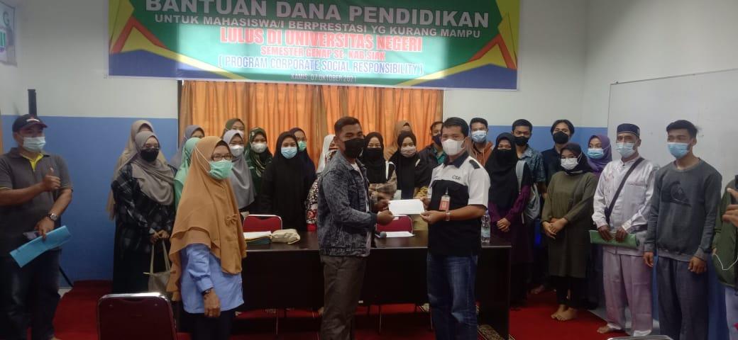 IKPP Beri Beasiswa untuk 60 Orang Mahasiswa Asal Siak