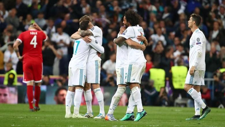 Kalahkan Tiga Raksasa, Madrid Tinggal Tunggu Lawan di Final