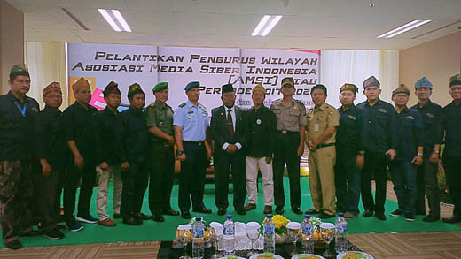 Pengurus Wilayah AMSI Riau Resmi Dilantik