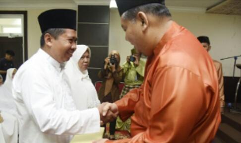 Diwakili Asisten II, Bupati Lepas JCH Korpri Pemkab Inhil
