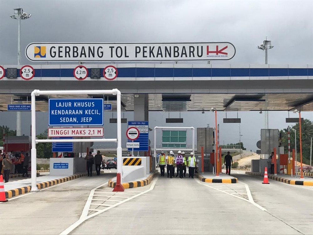 Belum Terima SK dari Menteri PUPR, Tol Pekanbaru-Dumai Masih Gratis