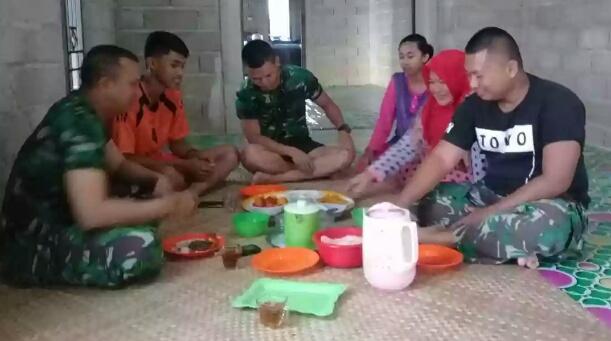 TMMD ke-101 Kodim 0314 Inhil, Bersama Rakyat TNI Kuat