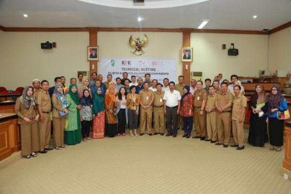 Pemprov Riau dan KPK Gelar Technical Meeting Pencegahan Korupsi