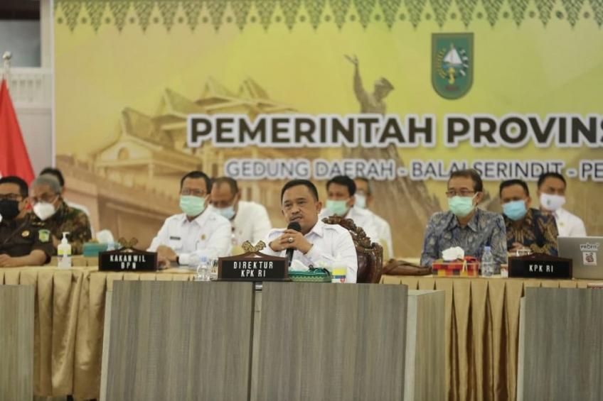 KPK Ingatkan Kepala Daerah di Riau Jangan Tamak