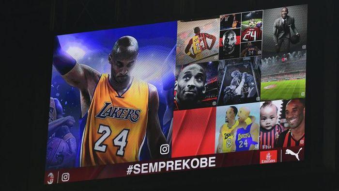 Penghormatan Khusus Buat Kobe Bryant di San Siro