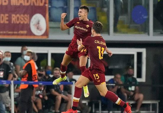 AS Roma Bantai CSKA Sofia 5-1