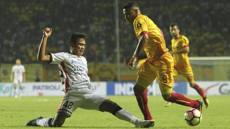 Sriwijaya vs Bali United Berakhir Imbang Tanpa Gol