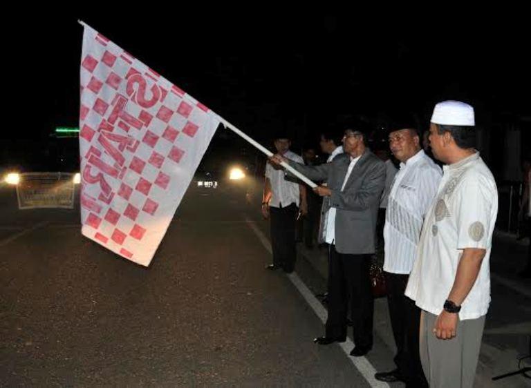 Penjabat Bupati Inhu Lepas Pawai Takbir Keliling Idul Adha 1436 H