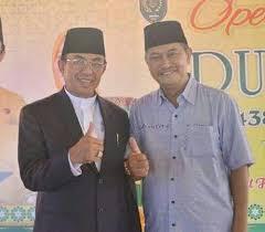 Golkar-PAN Umumkan HM Wardan-H Syamsuddin Uti